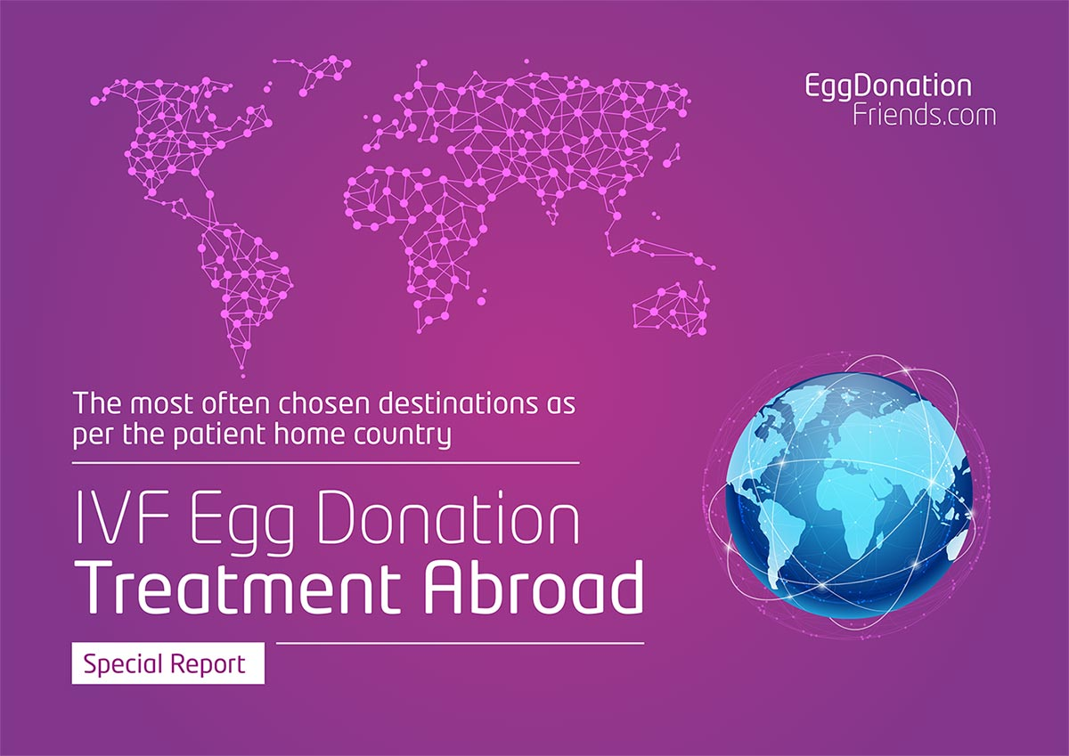 Find the best dstination for your IVF with donor eggs treatment.