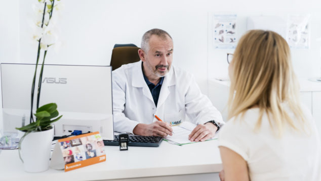 IVF doctor consultation in Gyncentrum Poland