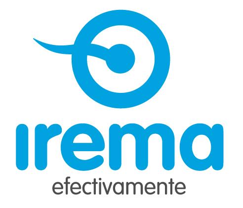IREMA logo color azul