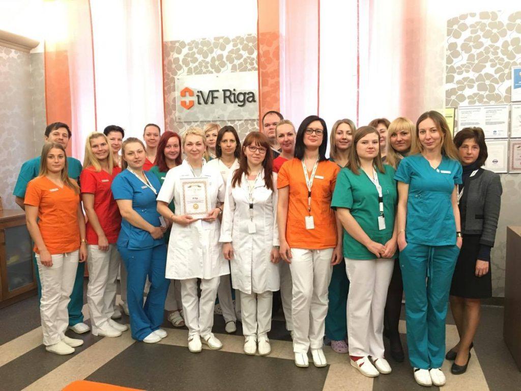 IVF Riga IVF Award 2015