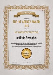 ivf award 2016 clinic spain