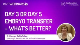 IVF Webinar - day 3 or day 5 (blastocyst) embryo transfer