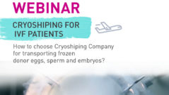 shipping frozen embryos internationally cost