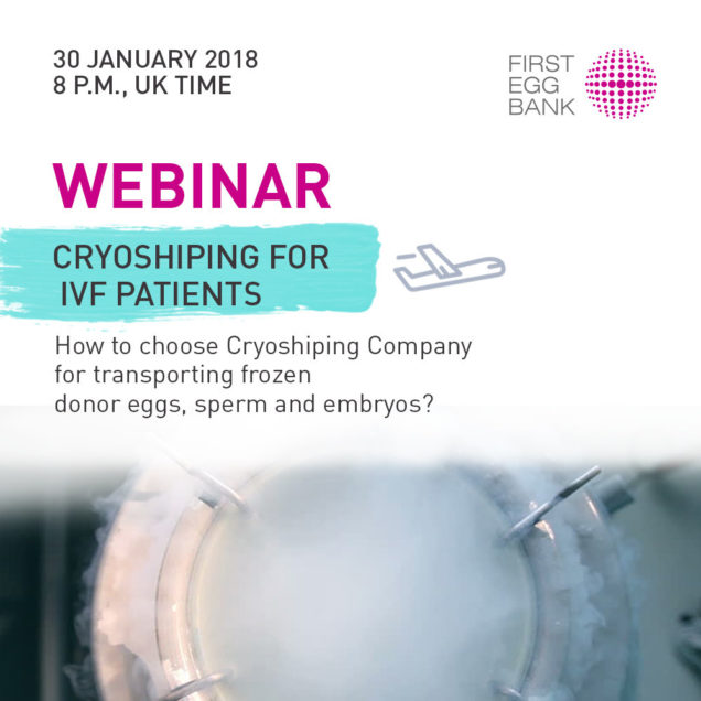 shipping frozen embryos internationally cost