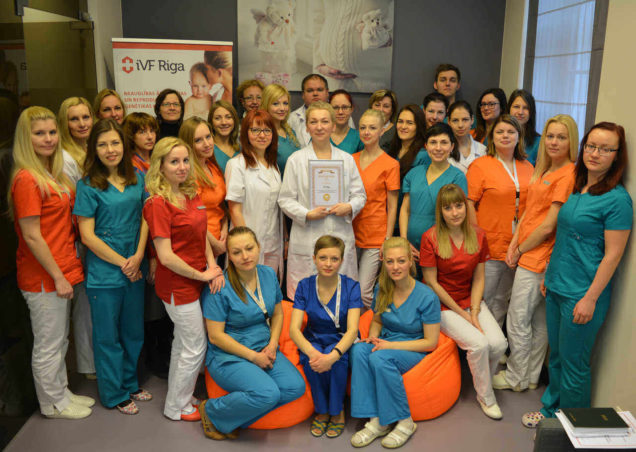 ivf clinic award 2017 ivf program riga