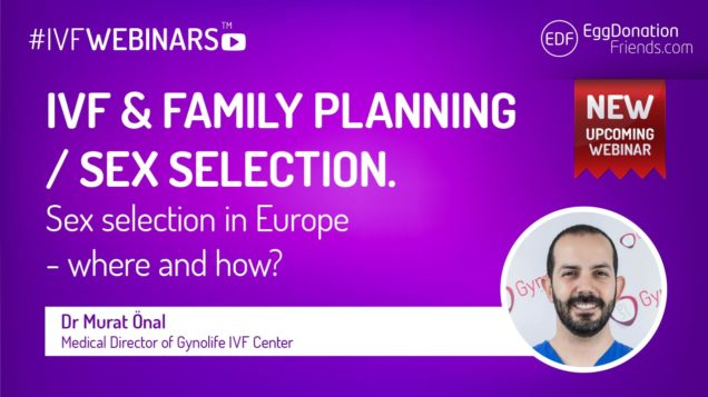 IVF Sex/Gender selection in Europe