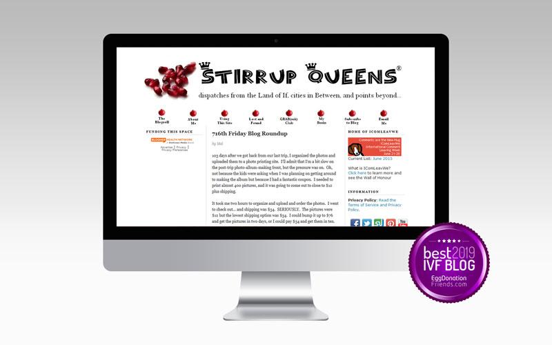 Stirrup Queens - Best IVF Blog to Follow in 2019