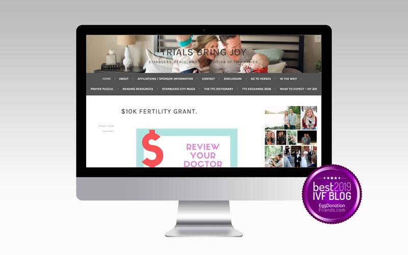 Trials Bring Joy - Best IVF Blog to Follow in 2019