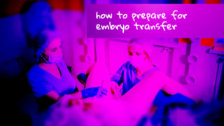 How to prepare for Embryo Transfer, before and afterwards