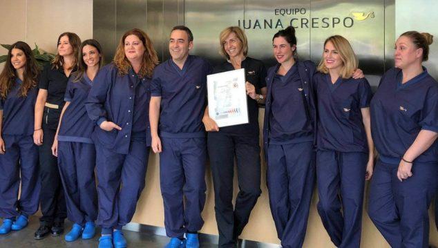 Equipo Juana Crespo IVF Clinic team