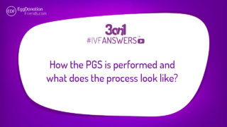 How the PGS is performed and what does the process look like? 3on1 #IVFANSWER