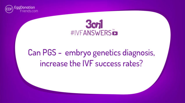 Preimplantation Genetics Screening - why to do it or why not? How it influence IVF process and what are the results of using genetic analysis. #IVFANSWERS