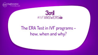 The ERA TEST in IVF programs - how, when and why? IVFANSWERS about Endometrial Receptivity Array