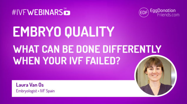 IVF success depends on embryo quality. This #IVFWEBINARS reveals the secrets of the embryos helping understand their meaning in IVF process.