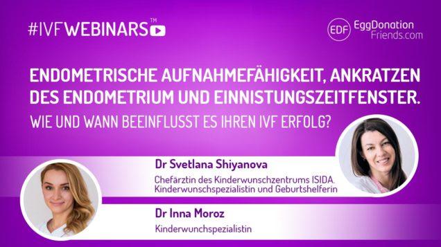 IVFWEBINARS with fertility experts also in German