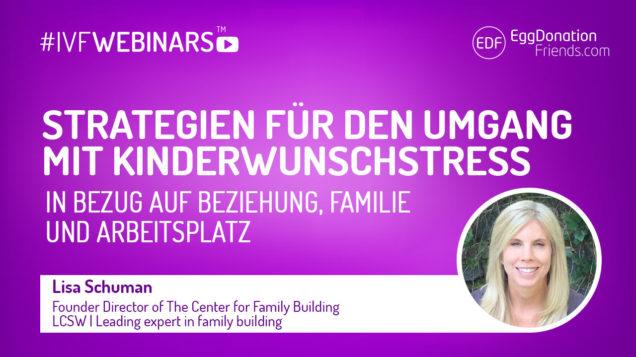 Strategien für den Umgang mit Kinderwunschstress in Bezug auf Beziehung, Familie und Arbeitsplatz