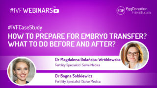 How to prepare for embryo transfer? What to do before and after? #(VFWEBINARS with fertility experts - Salve Medica Poland