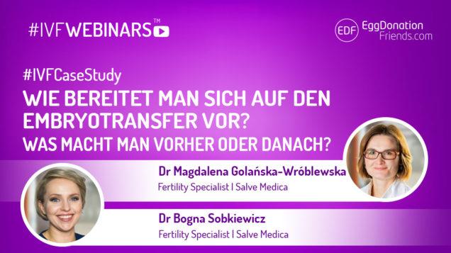 Wie man sich auf den Embryotransfer vorbereitet. Was macht man vorher oder danach?
