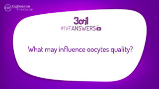 What may influence oocytes quality? #IVFANSWERS
