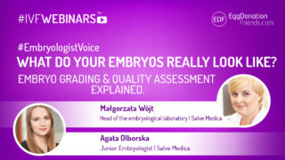 What do your embryos really look like? Embryo grading and quality assessment explained.#IVFWEBINARS