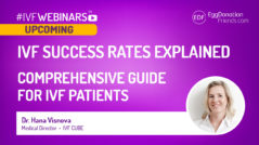 IVF success rates explained. Comprehensive guide for IVF patients. #IVFWEBINARS
