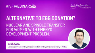 Nuclear and spindle transfer. What is it? How may it help woman with embryo development problems?