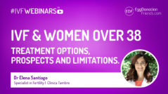 IVF & women over 38 - IVFWEBINARS with Tambre