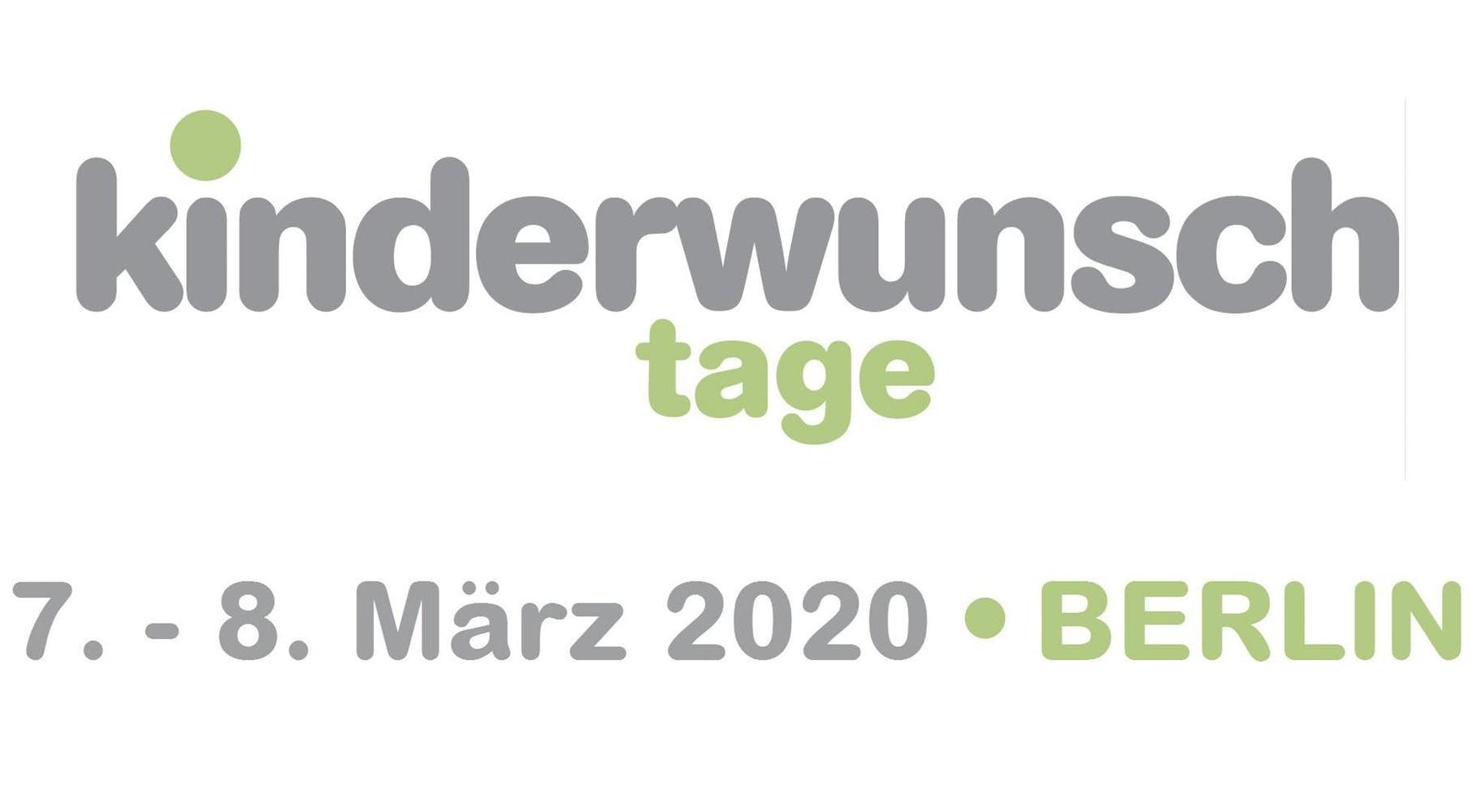 Kinderwunsch Tage Berlin 2020