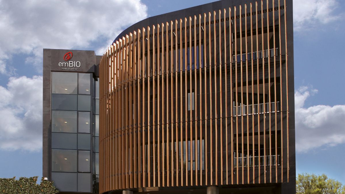 emBIO clinic building
