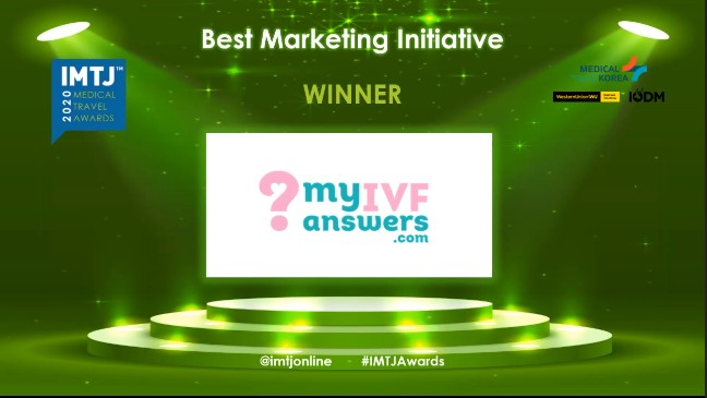 IVF Media Ltd recognised with IMTJ Medical Travel Award 2020!