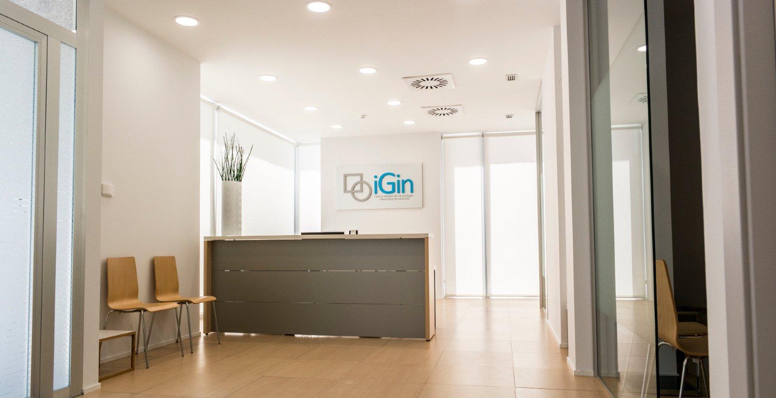 Reception at iGin